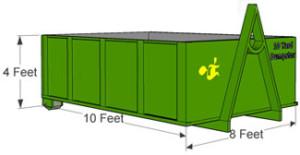 10 Yard Dumpster Rental Walpole