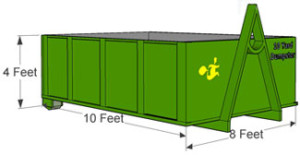 10 Yard Norwood Dumpster Rental