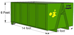 20 Yard Norwood Dumpster Rental